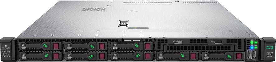 HPE ProLiant DL360 Gen10 - 8 Bay SFF 8x 2 5 | 1U HPE ProLiant DL360